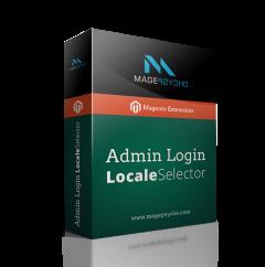 Admin Login Locale Selector