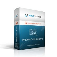 Magento 2 Preview/Visit Catalog