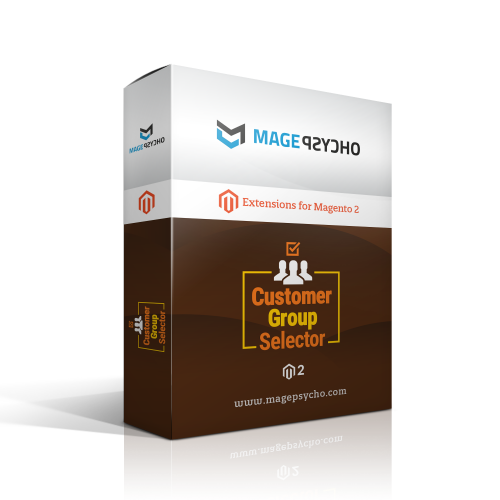Magento 2 Customer Group Selector Extension