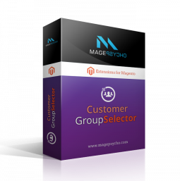 Customer Group Selector / Switcher