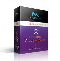 Magento 2 Group Selector / Switcher