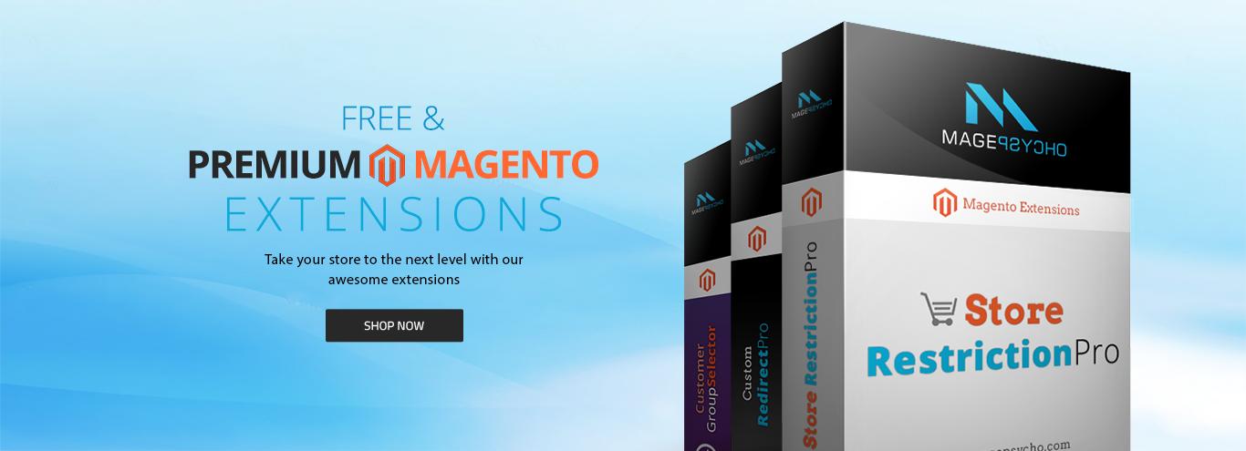 Free & Premium Magento Extensions
