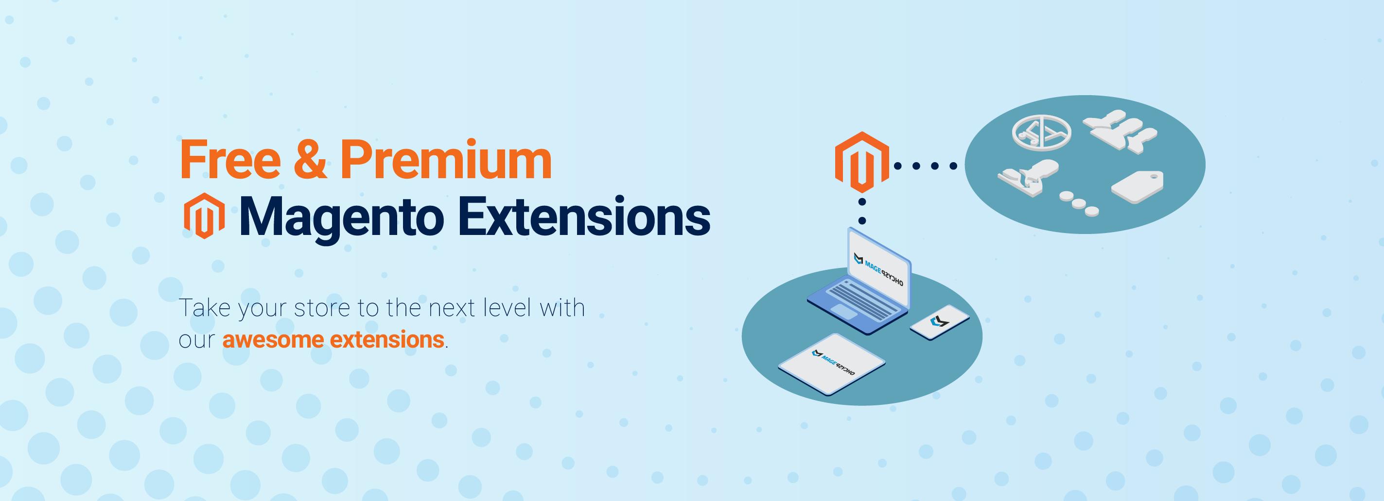FREE, Custom & Premium Magento Extensions